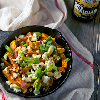 Sweet Potato Poutine with Miso Gravy