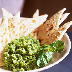 Smashed Peas with Fresh Mint