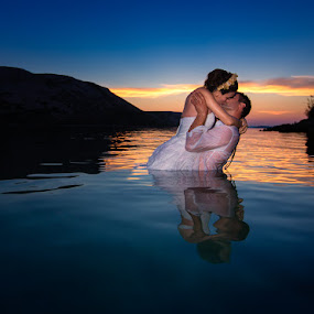 Wedding in croatia 3 by Petar Lupic - Wedding Bride & Groom