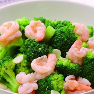 Broccoli Fried Shrimp