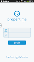 Screenshot of ProperTime for Android