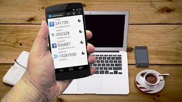 Screenshot of Authenticator Plus Import