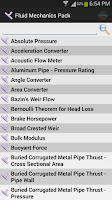 Screenshot of Fluid Mechanics Pack