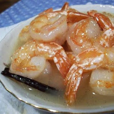 Shrimp With Coconut-Vanilla Sauce