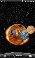 Screenshot of Planets Live Wallpaper