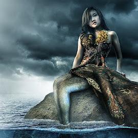 Mermaid ... a.k.a. Puteri Doyong.... (karep e) by Bang Munce - Digital Art People