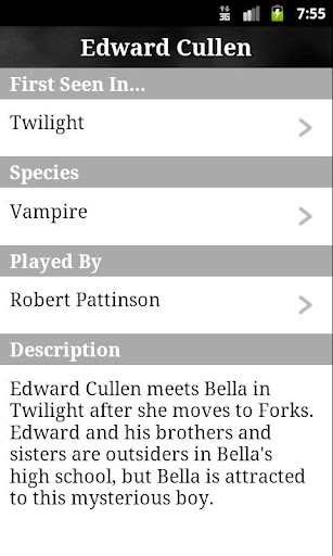 【免費書籍App】Twilight Series Companion-APP點子
