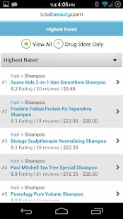 Best Shampoo Products + Advice - screenshot