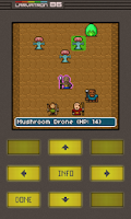 Screenshot of Gurk III, the 8-bit RPG
