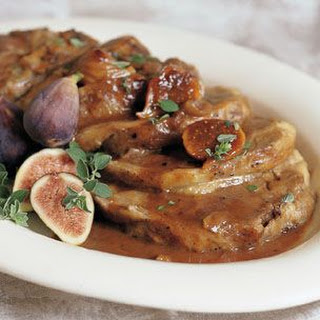 Braised Lamb Shoulder with Figs