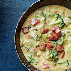 Queso-Broccoli Potato Chowder