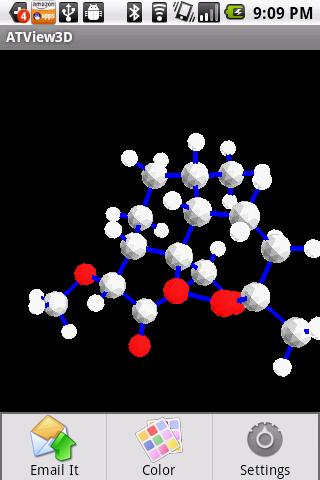 三維分子查看