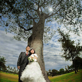 Pre Wedding  by Yusdianto Wibowo - Wedding Bride & Groom ( prewedding, wedding, romantic, couple, engagement )