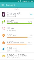 Screenshot of Fitbit