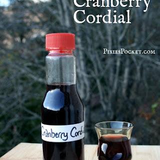 Cranberry Cordial Recipes