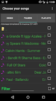 Screenshot of Box MP3 Folder Music Player