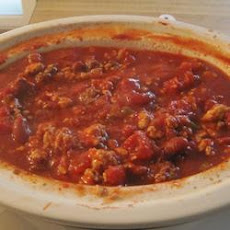 Slow Cooker Chicken and Sausage Chili