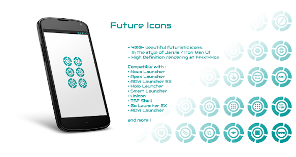 Future Icons - screenshot
