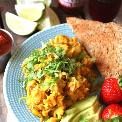 Mexican Chickpea Scramble
