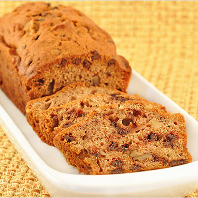 Spiced Chocolate-Pear Loaves