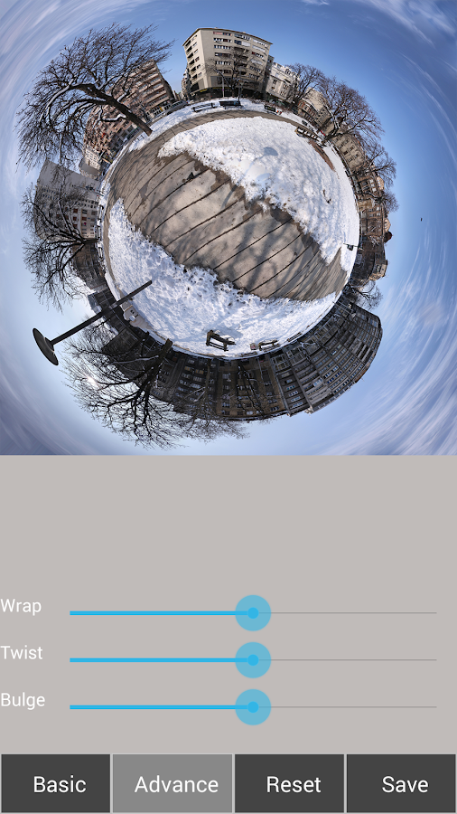 Tiny Planet FX Pro Screenshot 8