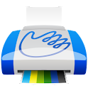 Impression mobile Printhand icon