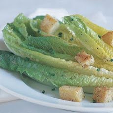 Toasted Parmesan and Garlic Oil Caesar Salad