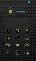 Screenshot of HI AppLock (BlackGrid Theme)