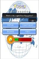 Screenshot of World Capitals Trivia