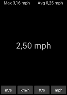 Simple Speedometer - screenshot