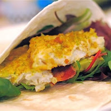 Beer Battered Cod, Avocado & Bacon Tacos