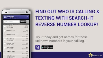 Screenshot of Reverse Phone Number Lookup