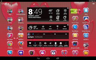 Screenshot of LC Heart Theme Apex/Go/Nova