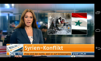 Screenshot of N24 News