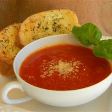 Zesty Tomato Soup for One
