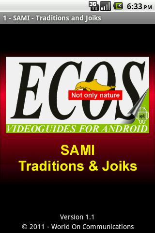 Sami - Traditions and Joiks 1
