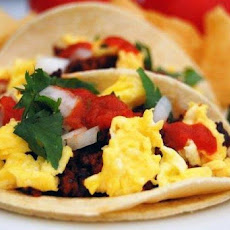 Authentic Mexican Breakfast Tacos