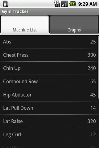 Gym Tracker