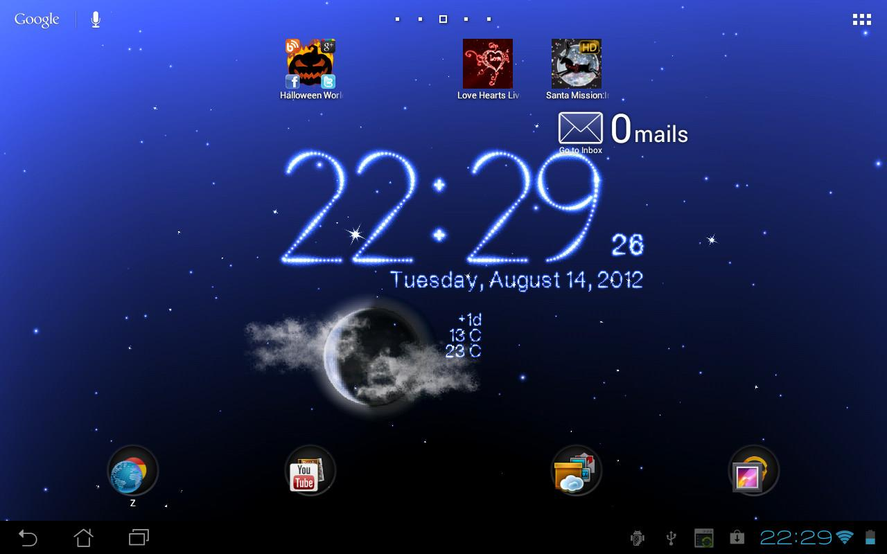 Weather Live Wallpaper Screenshot 12