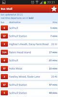 Screenshot of National Express West Midlands