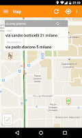 Screenshot of Milano Bus Live