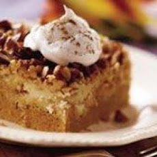 Upside Down Pumpkin Cake