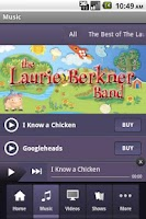 Screenshot of LaurieBBand