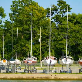 by Caroline Way - Transportation Boats