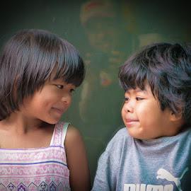 Smiles by Izhar  Hj.Ishak - Babies & Children Children Candids