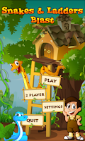 Screenshot of Snakes and Ladders Blast