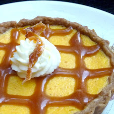 Carrot Cheesecake Tart with Candied Carrots (a twist on my favorite carrot cupcakes)
