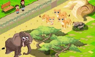 Screenshot of My Little Zoo FREE