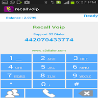 Screenshot of Recall Voip