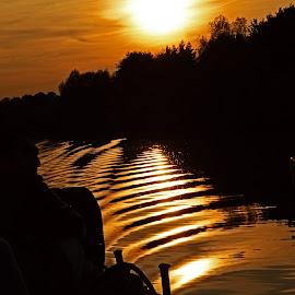 by Muzna Malik - Transportation Boats